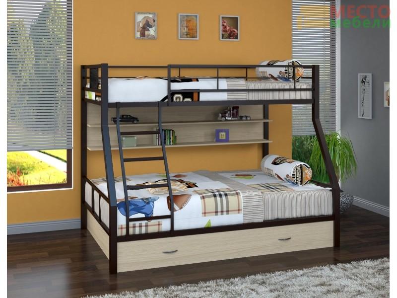 Двухъярусная кровать Гранада-1\ПЯ