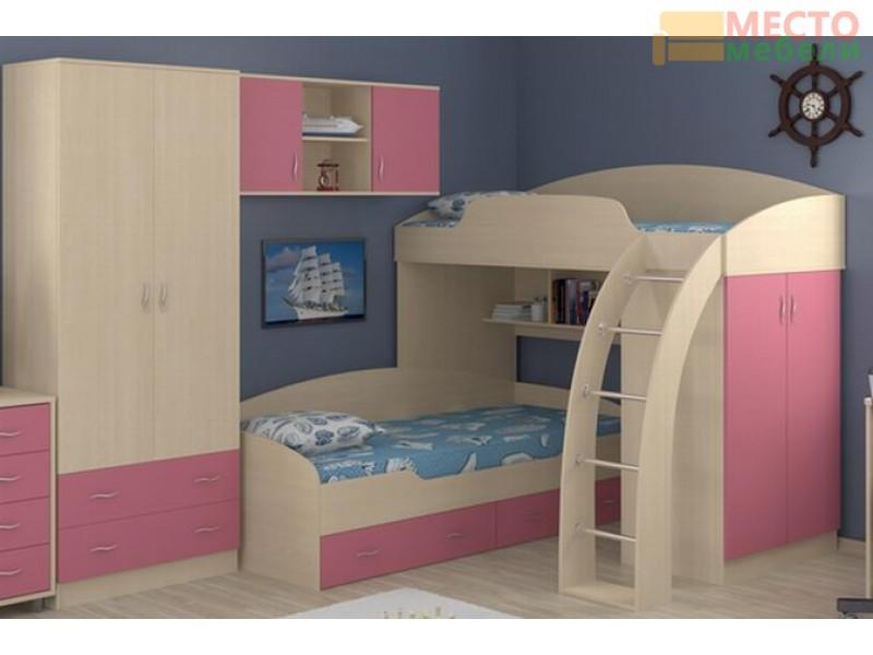 Двухъярусные детские кровати фото