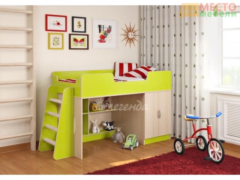 Детская кровать Легенда 2.1