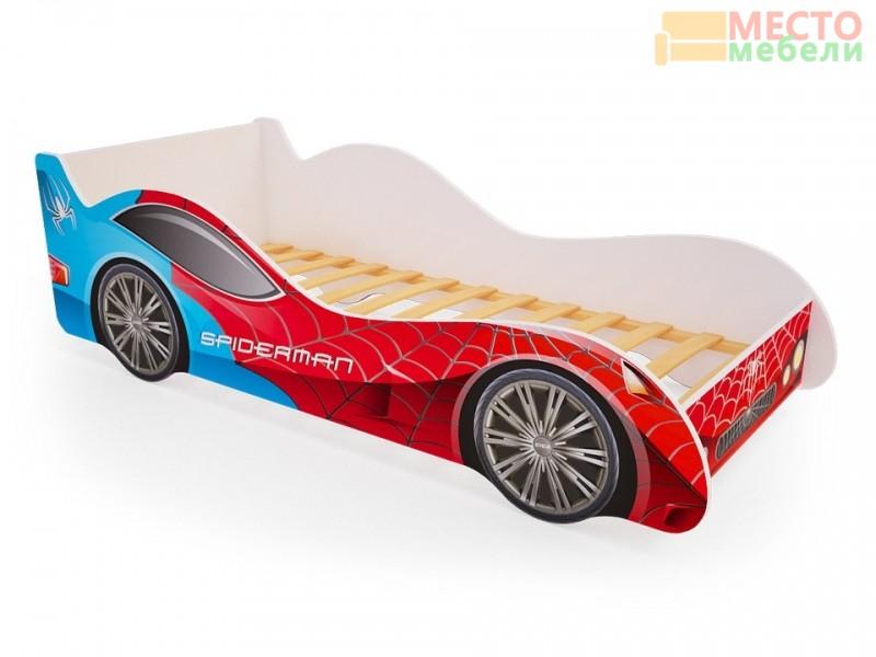 Кровать машина SpiderMan
