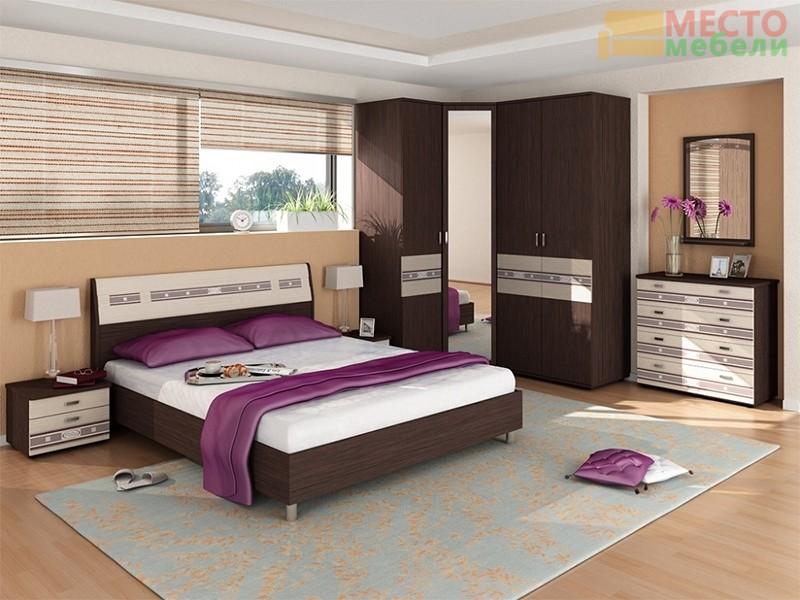 Спальня 7 предметов Ривьера-1
