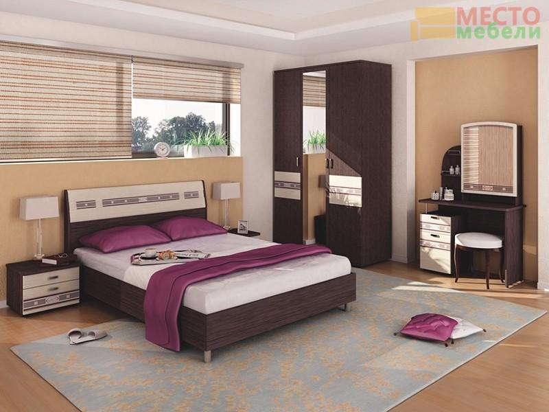 Спальня 5 предметов Ривьера-3