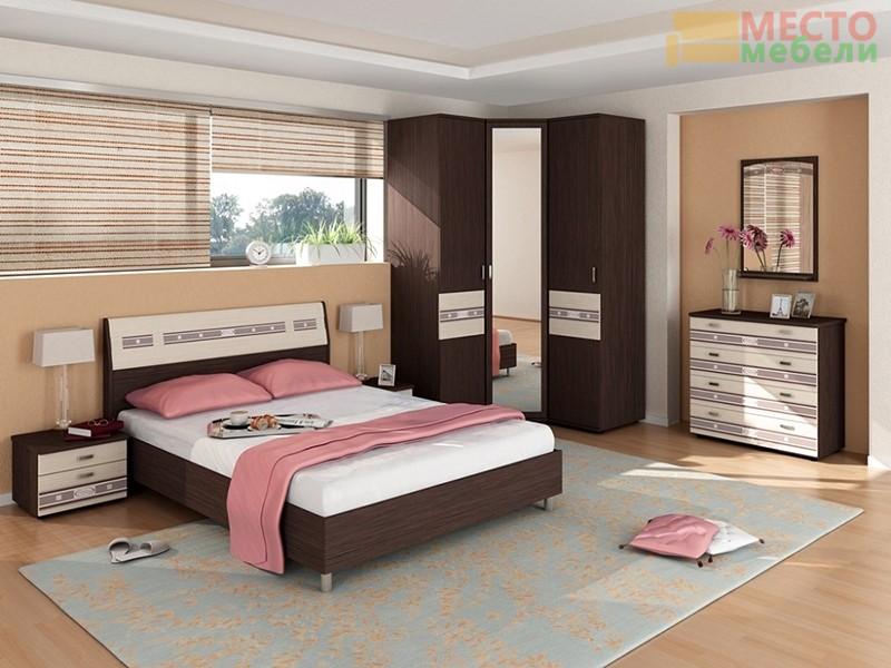 Спальня 7 предметов Ривьера-4