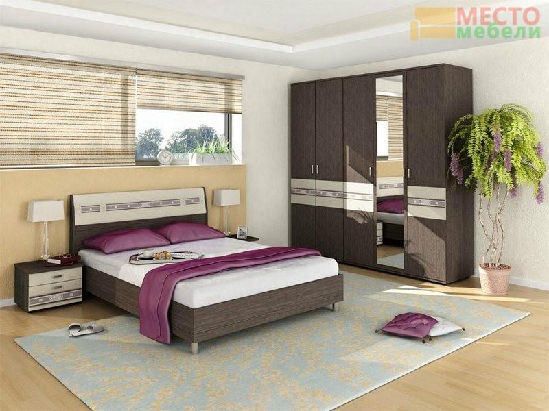 Спальня 5 предметов Ривьера-5