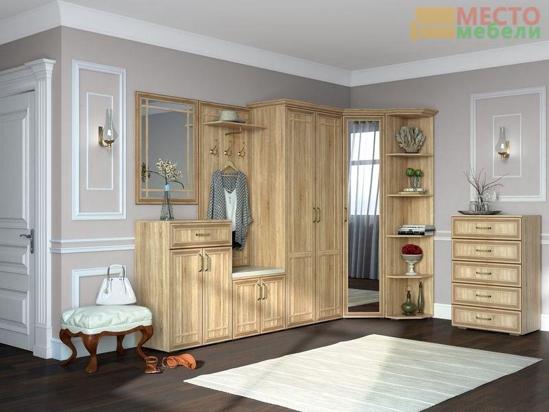 Набор мебели для прихожей №2 Бруно