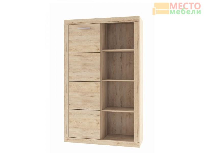 Шкаф комбинированный 1D Оскар