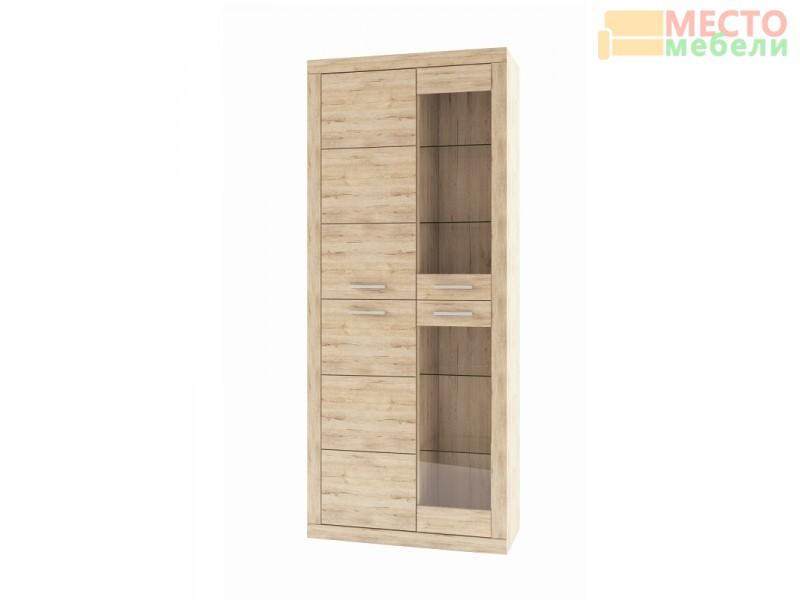 Шкаф-витрина 2V2D Оскар