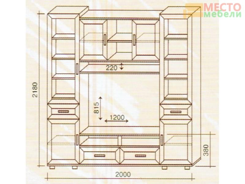 Шкаф стойка №162