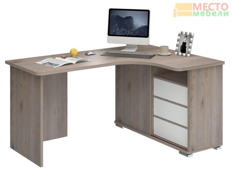 Компьютерный стол СР-145С Нельсон правый