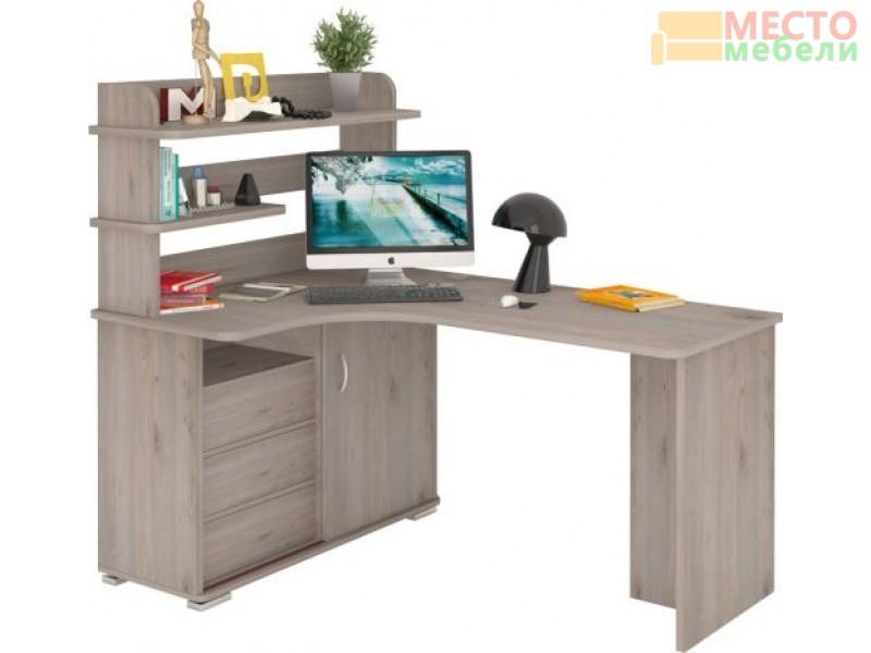 Компьютерный стол СР-145 Нельсон левый