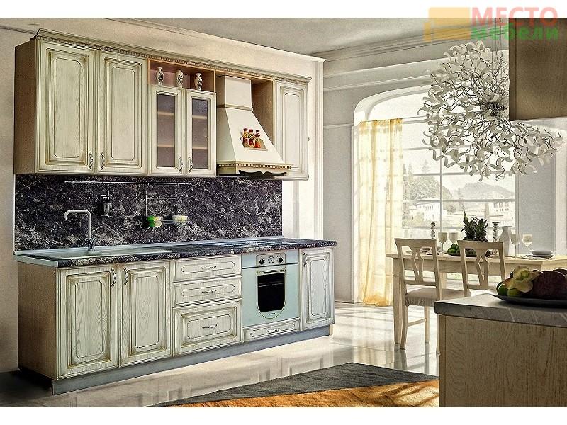Кухонный гарнитур кухня анжелика патина