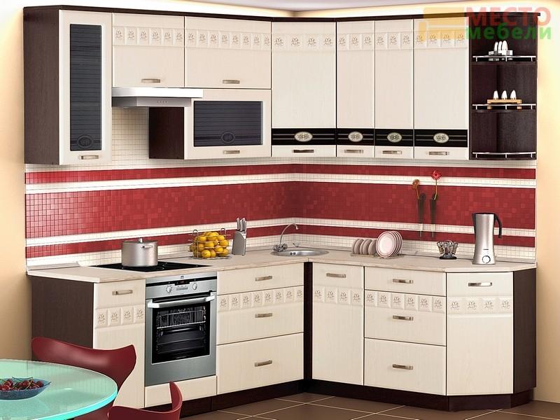 Кухня Аврора-10 кухня 13 предметов