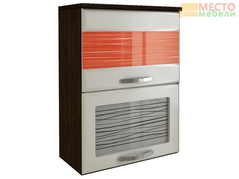 Шкаф-витрина Оранж с плавн. закр. дверей 09.80.1