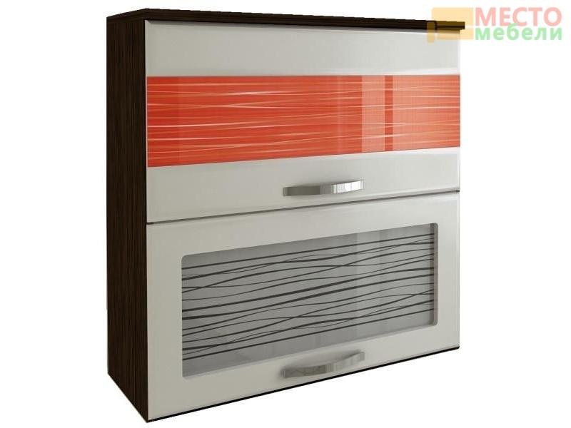 Шкаф-витрина Оранж с плавн. закр. дверей 09.81.1