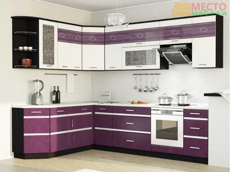 Кухня Палермо-8 угловая 15 предметов