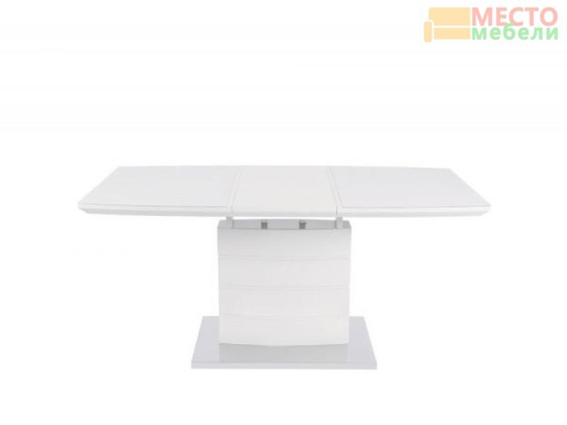 Стол обеденный DТ15037-1 - белый глянец