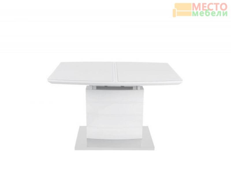 Стол обеденный DТ15037 - белый глянец