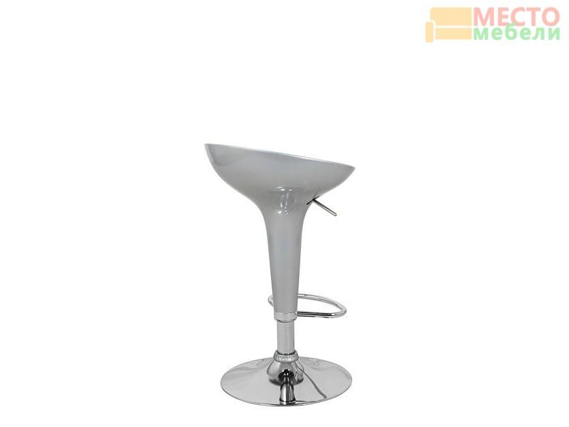 Барный стул Бомба D-18, серебро