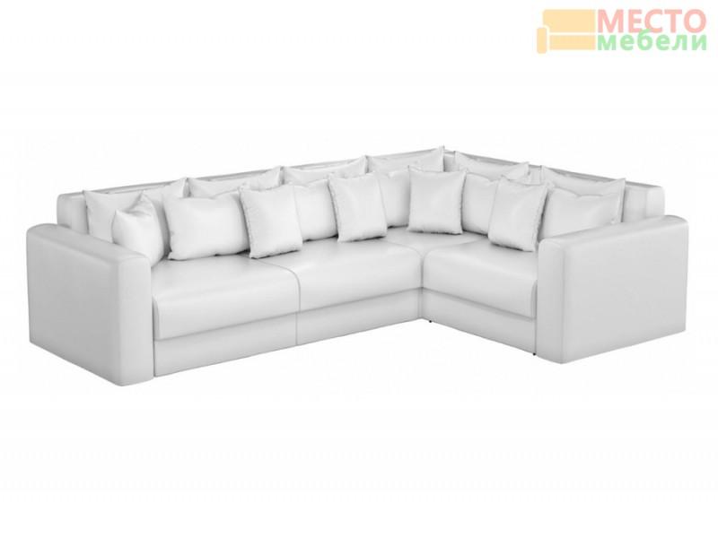 Белый угловой диван с доставкой