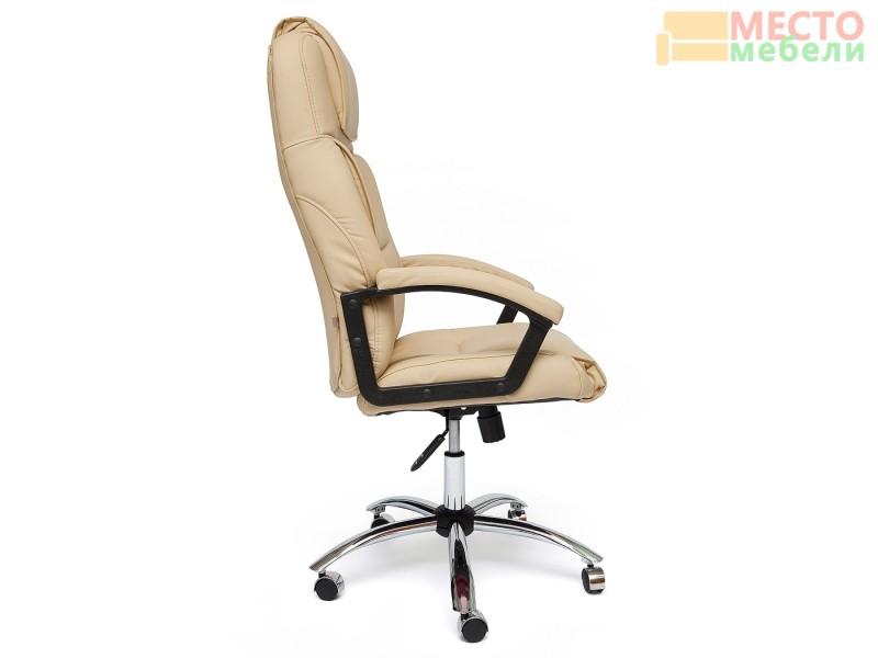 Кресло офисное «Бергамо» (Bergamo) хром