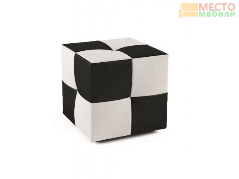 Пуф 167.1 черно-белый