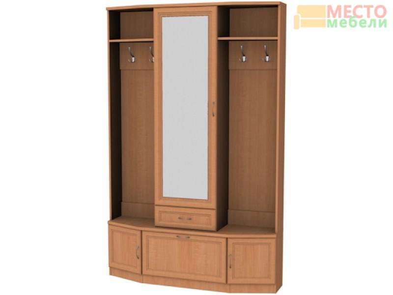Шкаф для прихожей с зеркалом арт. 600 Гарун