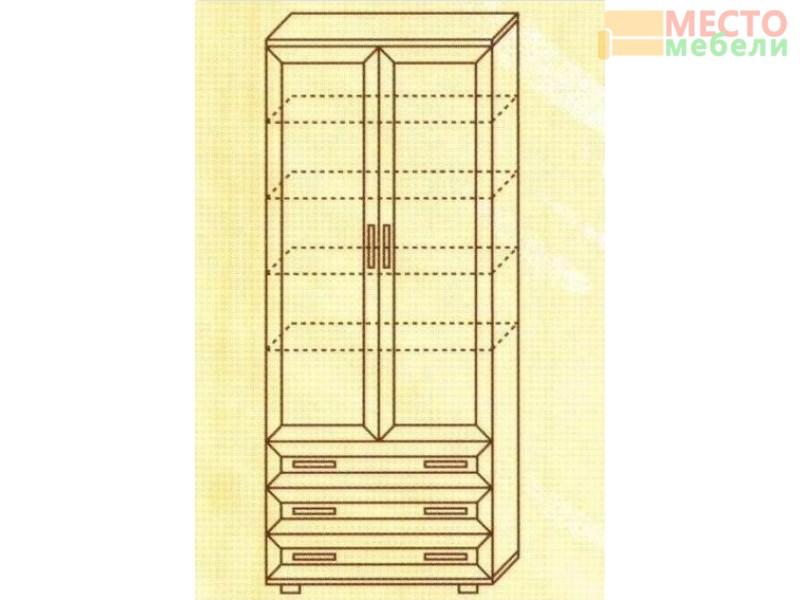Шкаф для одежды №106