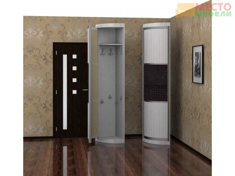Угловой элемент с дверкой (наполнение крючки)