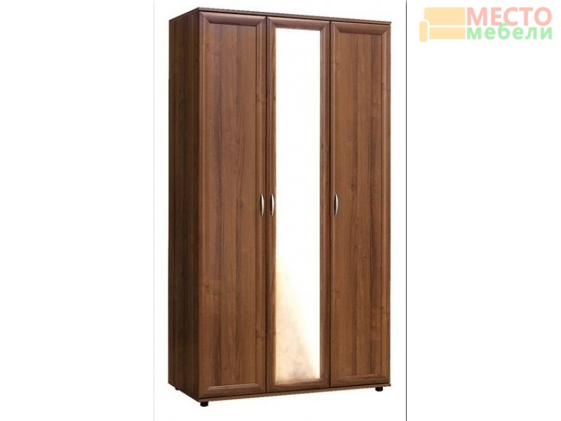 Шкаф 3-х створчатый № 105 с зеркалом