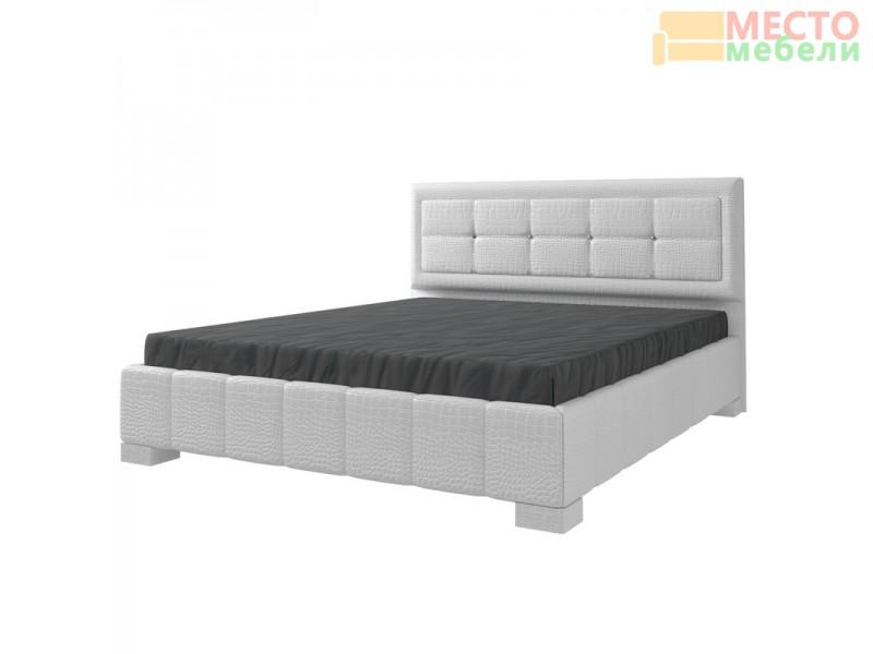 Кровать 2-х спальная 227 белая (МК-44)