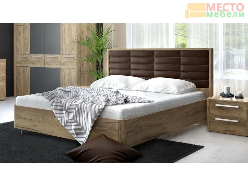 Кровать двухспальная 233 (МК-52)