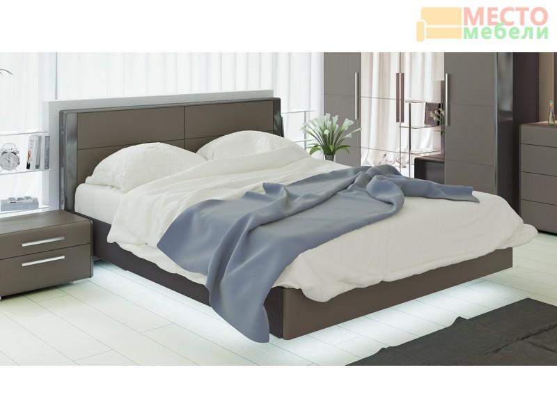 Двуспальная кровать «Наоми» СМ-208.01.01