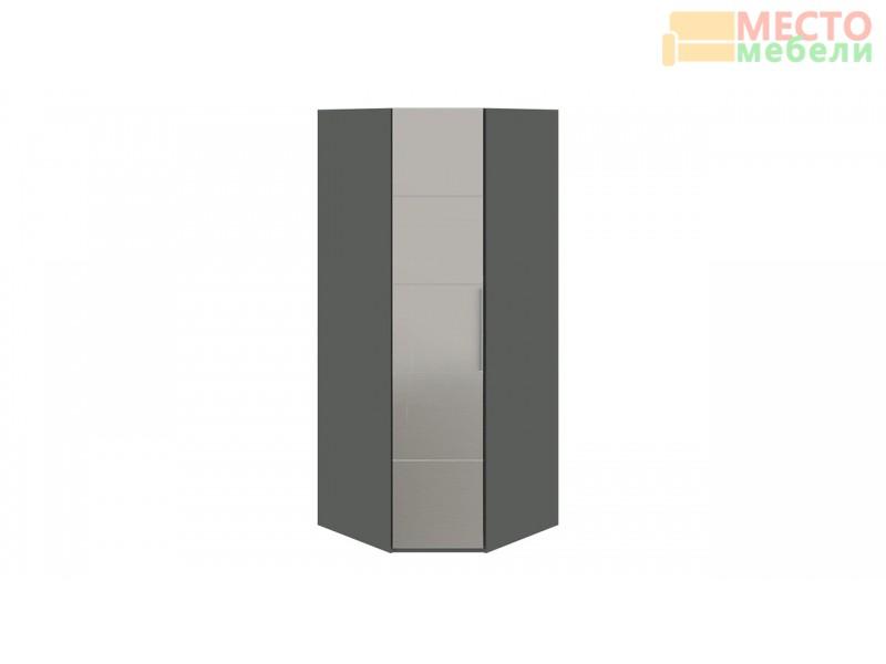 Шкаф угловой с 1-й зеркальной левой дверью «Наоми» СМ-208.07.07 L