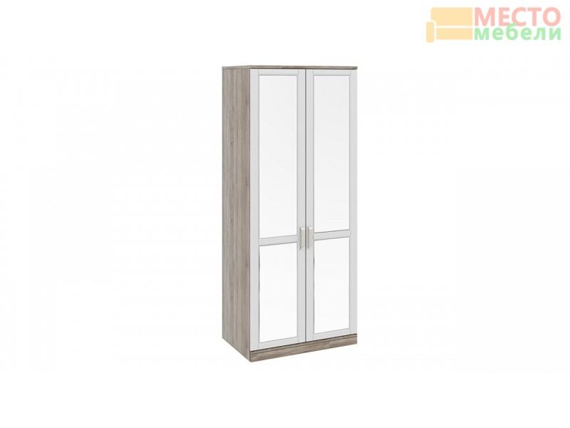 Шкаф для одежды с 2-мя зеркальными дверями «Прованс» СМ-223.07.004