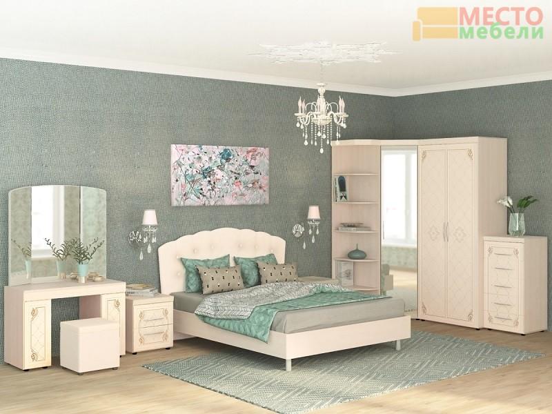спальный гарнитур версаль бежевого цвета заказать модульную