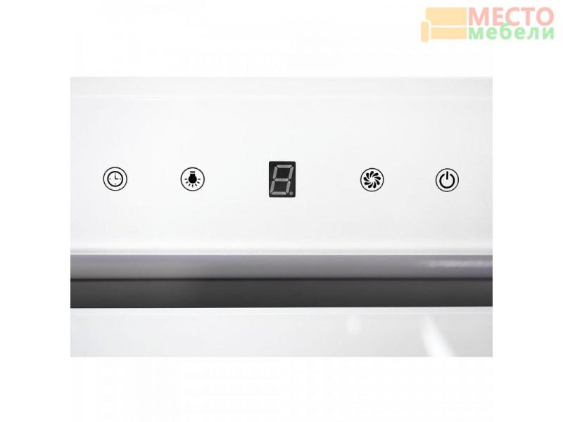 Встраиваемая кухонная вытяжка GS GLASS 900 White