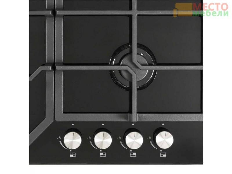 Газовая варочная поверхность GVG 642 BL Black