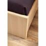 Кровать 1600 Амели 2 с основанием металл (беленый дуб)