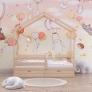 Детская кровать-домик Sweet Roof (80*160) c ящиками