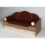 Комплект из пяти диванных подушек + покрывало Фанки Эллипс