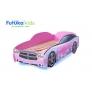 Кровать-машина Додж, розовый