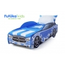 Кровать-машина Додж, синий