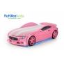 Кровать-машина объемная (3d) NEO Мазерати, розовый