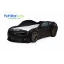 Кровать-машина объемная (3d) EVO Camaro, черный матовый