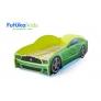Кровать-машина Мустанг, зеленый