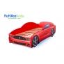 Кровать-машина Мустанг, красный