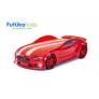 Кровать-машина объемная (3d) NEO Вольво, красный