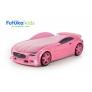 Кровать-машина объемная (3d) NEO Вольво, розовый