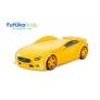 Кровать-машина объемная (3d) NEO Вольво, желтый