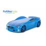 Кровать-машина объемная (3d) NEO Вольво, синий